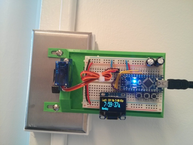The Robot Light Switch   Hackaday