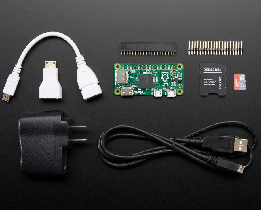 Adafruit Raspberry Pi Zero Budget Pack