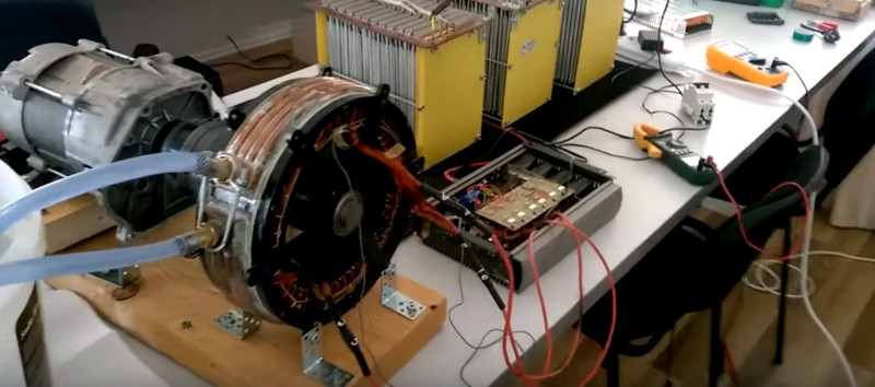 EV Motor Not Powerful Enough? Make Your Own    Hackaday