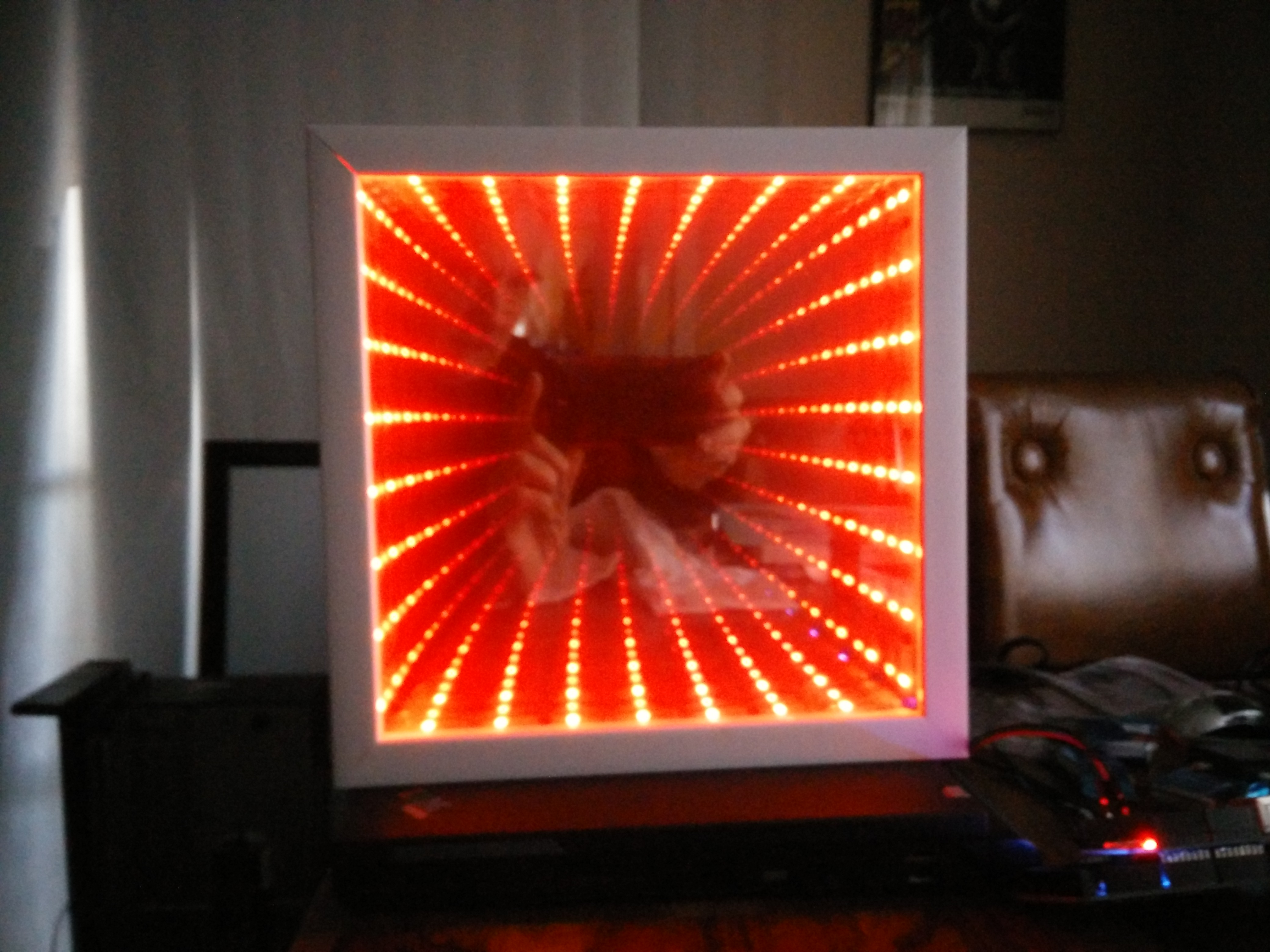 Ridiculous Way To Light An Led Candlepower Hackaday