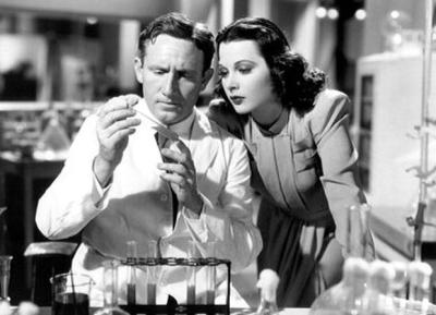 "Irony: Hedy with Spencer Tracy in ""I Take This Woman"""