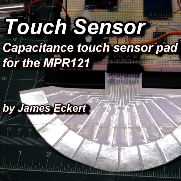 Conjuring Capacitive Touch Sensors From Paper And Aluminum