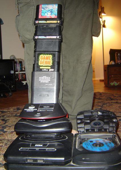 The Sega 'Tower of Power'. Image credit /u/bluenfee