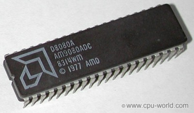 An AMD 8080A. source