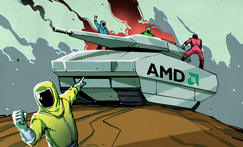 Echo Of The Bunnymen: How AMD Won, Then Lost | Hackaday