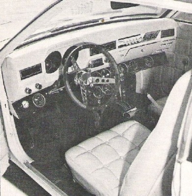 The modified Pinto cockpit. Image from Cookie Boy's Toys
