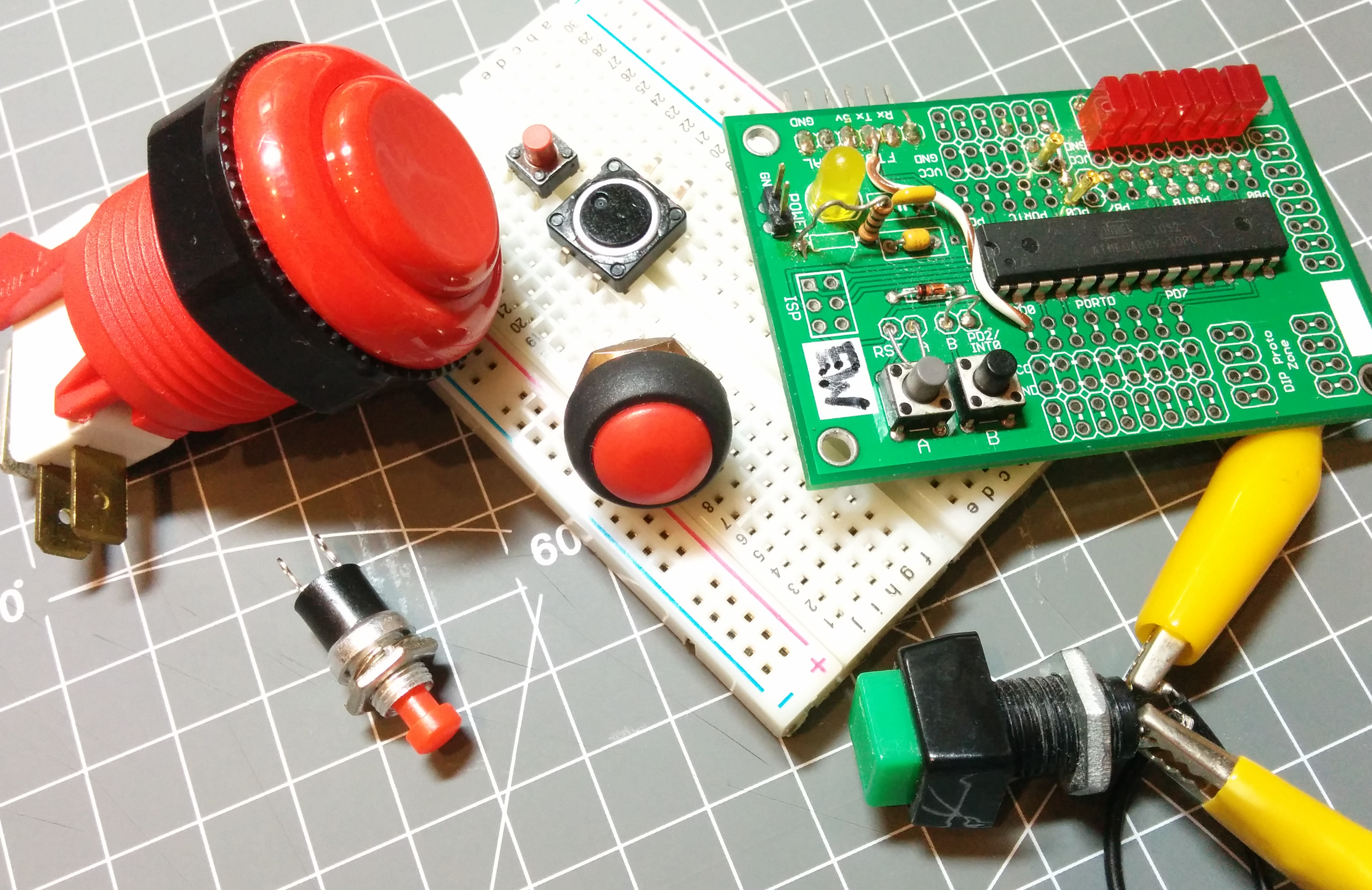Embed With Elliot: Debounce Your Noisy Buttons, Part I | Hackaday
