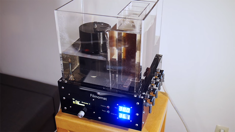 The Filmomat Home Film Processing System | Hackaday