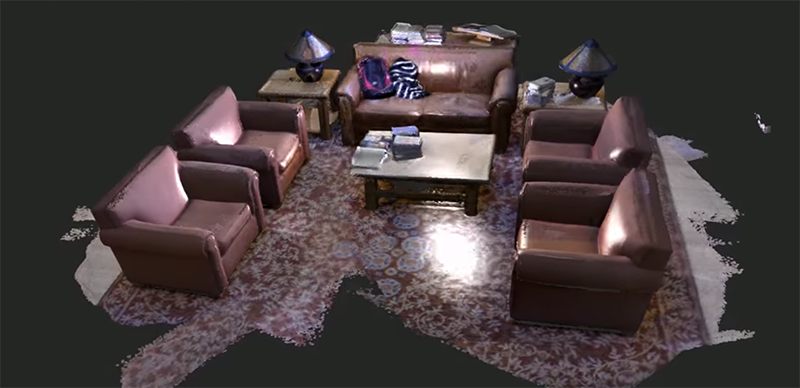 3D Scanning Entire Rooms With A Kinect | Hackaday