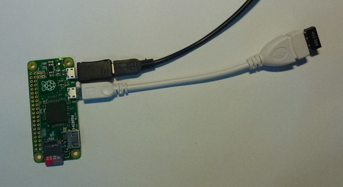 Pi Zero with WiFi dongle on USB OTG
