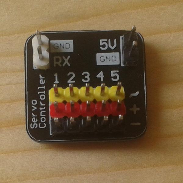 A Tiny Servo Motor Controller | Hackaday