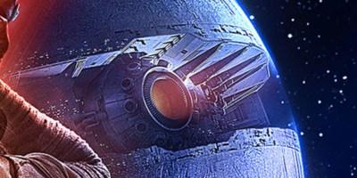 Starkiller Base, as seen in The Force Awakens poster