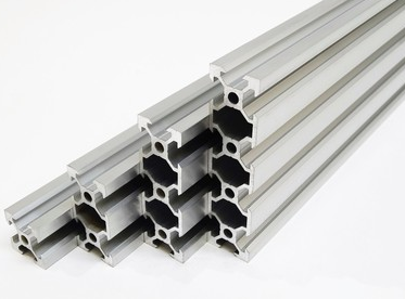 VSlot linear rail system for building multiaxis linear actuator systems