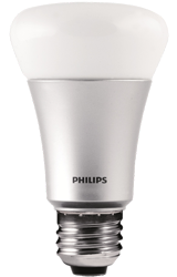 The Philips Hue light bulb