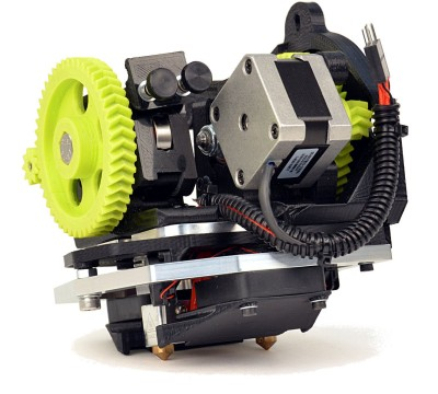The Lulzbot Dual Extruder Tool Head v2