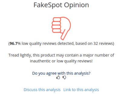 fakespot-review-analysis