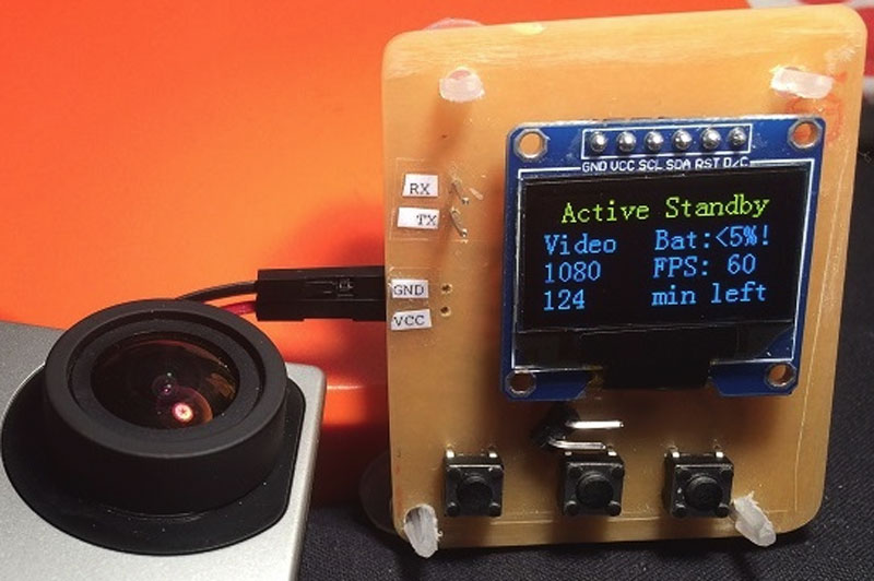 ESP8266 GoPro Remote Adds Buttons, Screen   Hackaday