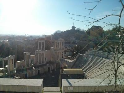 Roman ruins of Plovdiv