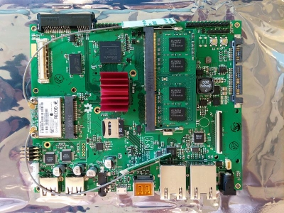 The motherboard of Novena, the open source hardware laptop. source