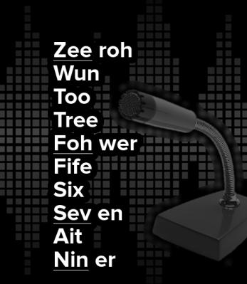 numeric-alphabet
