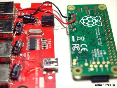 Wiring between Zero and Hub