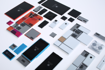 Google's modular phone, known as Project Ara. Image via Wikipedia