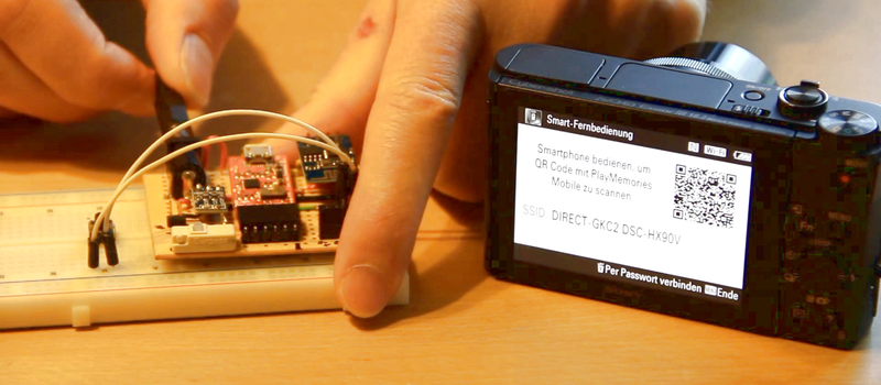 Drive A Sony Camera With An ESP8266   Hackaday