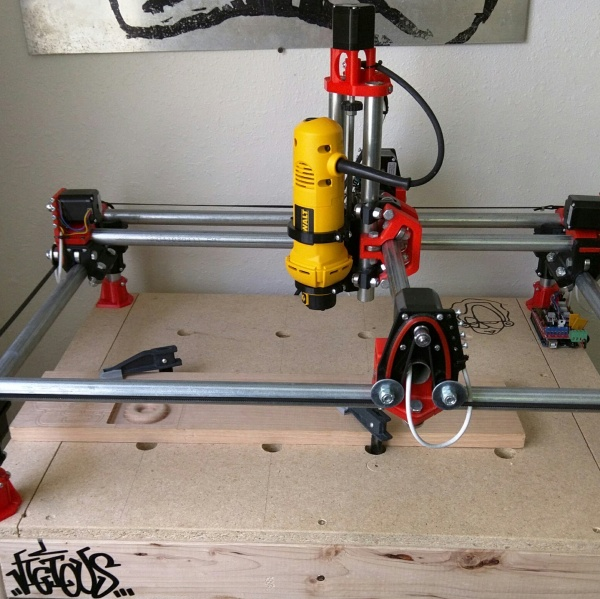Sub $300 CNC, If You Have A 3d Printer | Hackaday