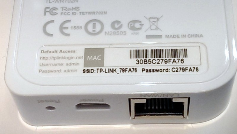 TP-LINK's WiFi Defaults To Worst Unique Passwords Ever | Hackaday