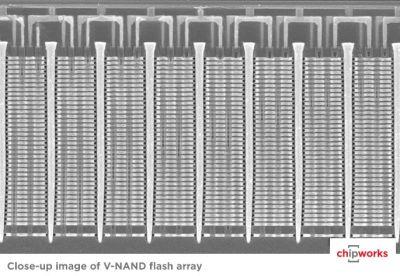 Samsung's V-NAND image source