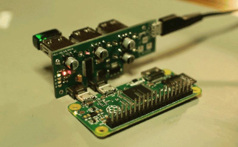 New Angle On Raspberry Pi Zero Hub | Hackaday