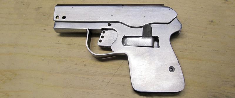 Building A Sheet Metal Pistol