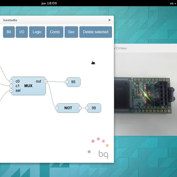 Icestudio: An Open Source Graphical FPGA Tool   Hackaday