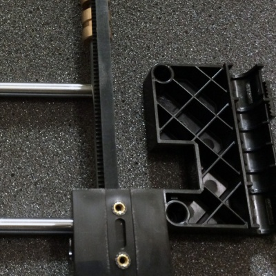 Makerbot used bushings in cheap plastic parts, rendering the steel frame meaningless. http://3Dprinting-blog.com/378-makerbot-replicator-2-upgrade-to-linear-bearings/