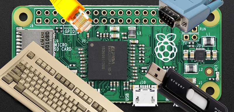 Giving The Pi Zero USB, Ethernet, And Serial Over USB | Hackaday