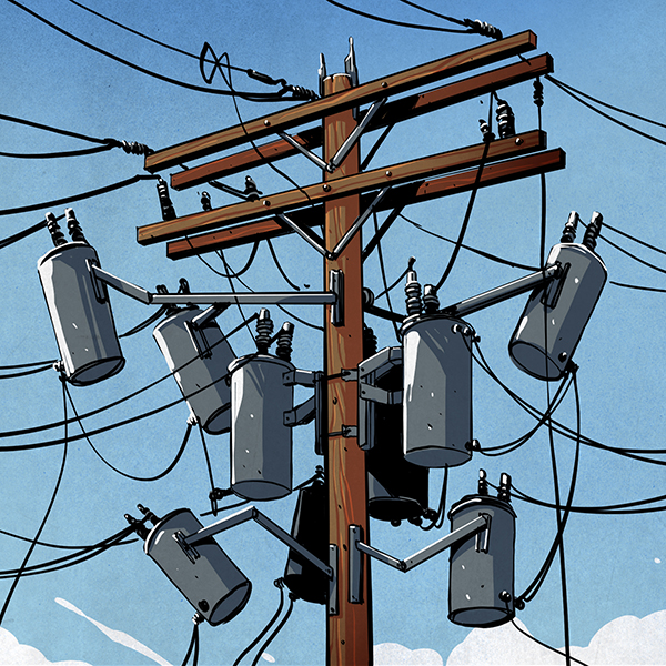 Super A Field Guide To The North American Utility Pole Hackaday Wiring 101 Capemaxxcnl