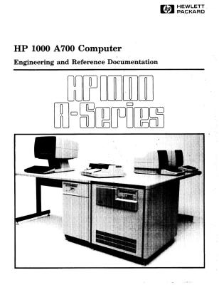 HP1000 Reference via the Internet Archive