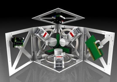 inside of balancing cube