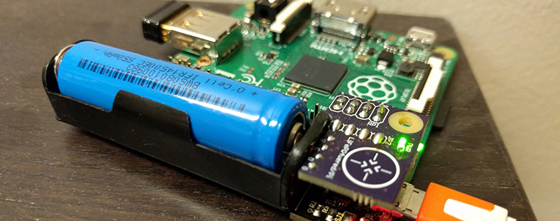 Battery Backup For The Raspberry Pi | Hackaday