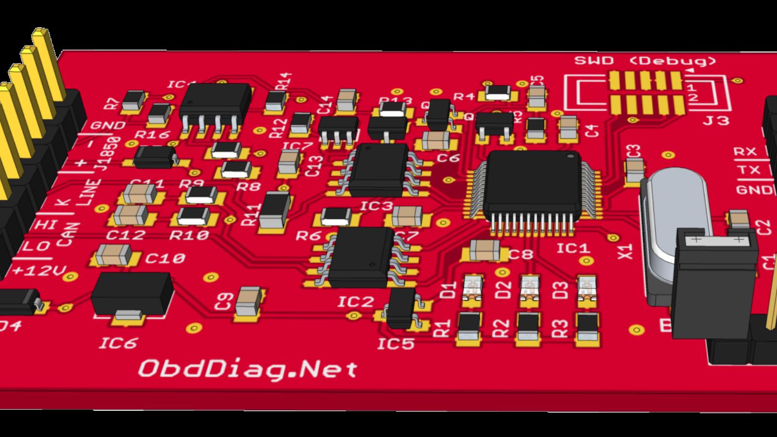 Open Source OBD-II Adapter | Hackaday