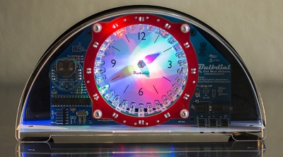 The Bulbdial Clock turns pretty lights into a clock.