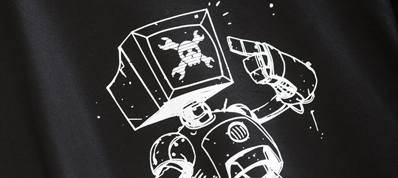Buying the CRT Android tee will make you more popular. Consume.