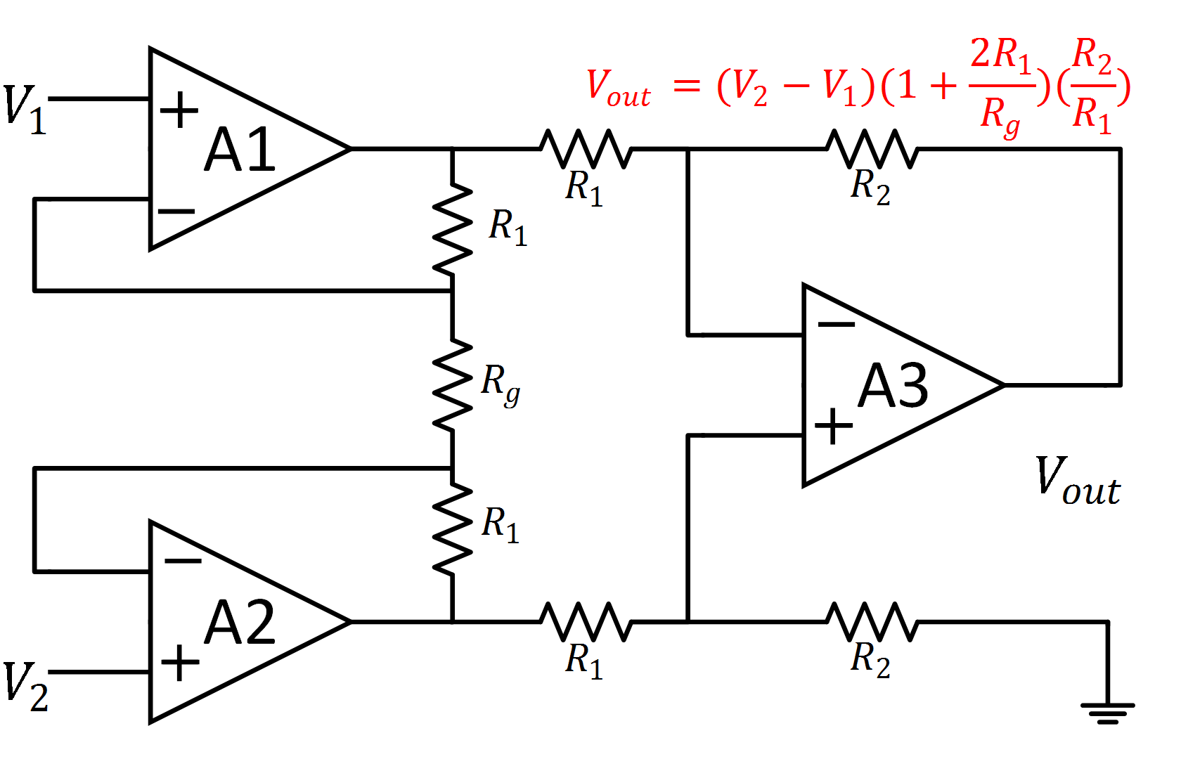 Astonishing Instrumentation Amplifier Circuit Diagram Amplifiercircuit Basic Wiring Cloud Brecesaoduqqnet
