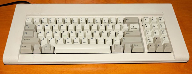 An original IBM F77 Kishsaver