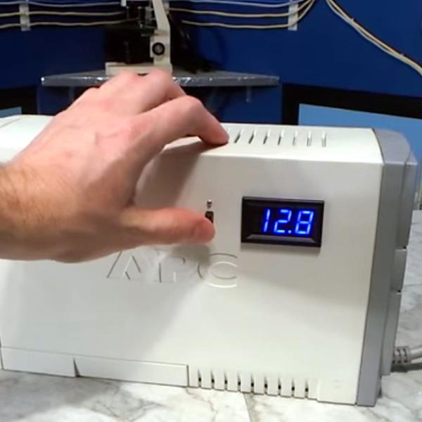 Ultimate Battery Backup Mod | Hackaday