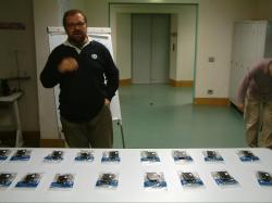 Massimo Banzi teaching class with Wiring