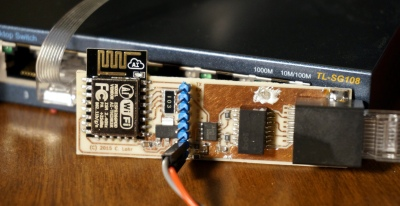 The seemingly impossible: [cnlohr]'s feat of making an ESP8266 do wired Ethernet.