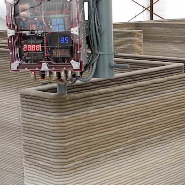 3D Printing Houses From Concrete | Hackaday