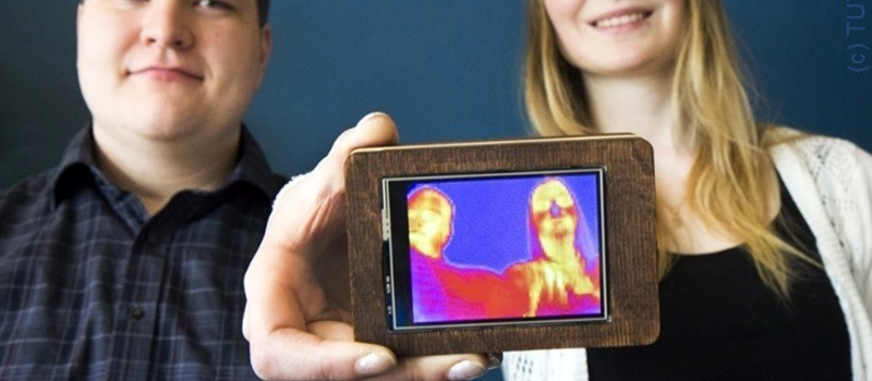 DIY Thermal Imaging Smartphone | Hackaday