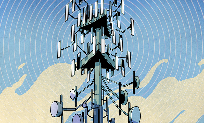 A Field Guide To The North American Communications Tower